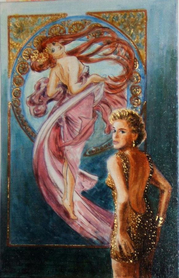 Sharon Stone by Douillard